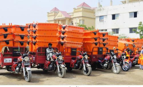 2.Delivery of new Dust Bins for District East